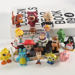 Toy Story 17 Unids 5 Cm Ideal Decoración Torta Hermosos!!!