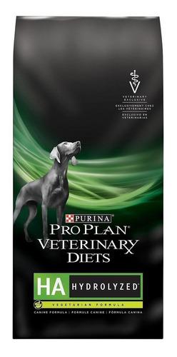 Imagen 1 de 2 de Alimento Pro Plan Veterinary Diets HA Hydrolyzed para perro adulto todos los tamaños sabor mix en bolsa de 7.4kg