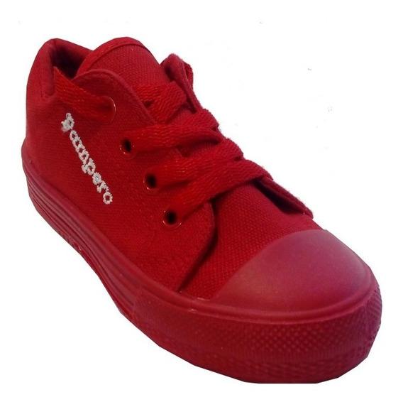 Zapatillas Niños Niñas Marca Pampero Modelo Lau