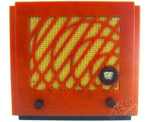 Miniatura Radio Retrô Vintage 934 Safar Usignolo Decorativo