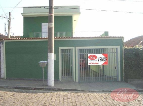Sobrado No Centro - Ferraz De Vasconcelos - So0419