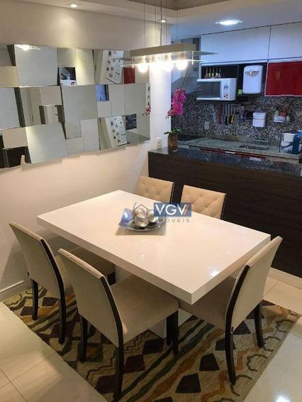 Sensacional Apto Decorado Com 3 Dormitórios E Terraço Gourmet - Ap2042