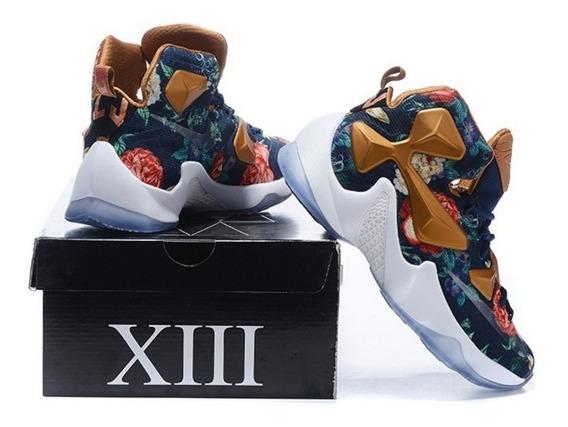 Tênis Lebron Xlll Shoes Importado Conforto Esporte