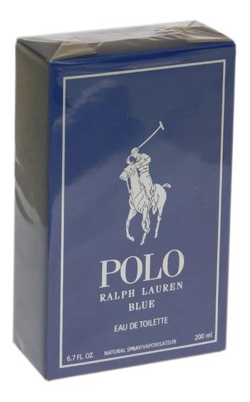 Perfume Polo Blue 200ml Masculino Edt - Original Lacrado