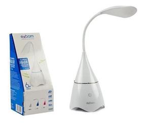 Luz Led Luminária Bluetooth Abajur Musical Caixa De Som Pc