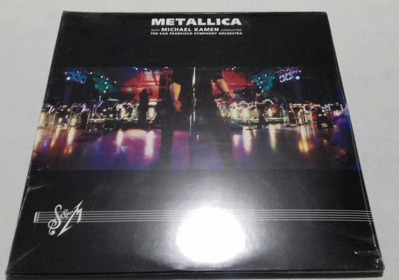 Metallica Michael Kamen San Francisco Symphony Orches 3 Lp