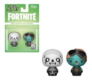 Funko Pint Size- Fortnite X 2- Skull Trooper & Ghoul Trooper