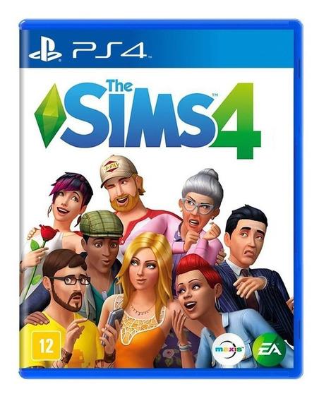 The Sims 4 Ps4 Mídia Física Lacrado Original Novo