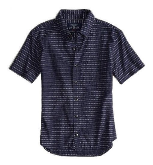 S, L- Camisa American Eagle C134ae Ropa Hombre 100% Original