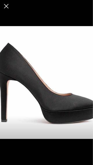 Zapatos Negros H&m De Vestir Importados