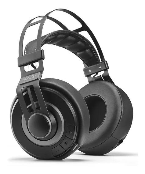 Fone De Ouvido Preto Headphone Wired Premium Ph237 Pulse