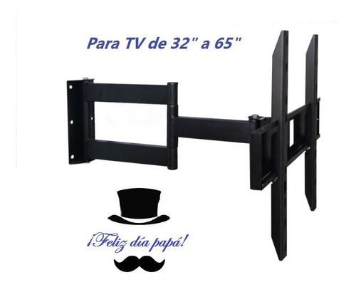 Rack Extensible Para Tv Doble Brazo / Envíos / Instalación