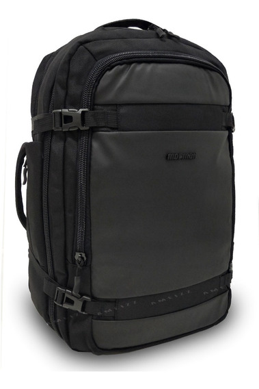 Mochila Executiva Masculino Mom19501 Original Mormaii Preto
