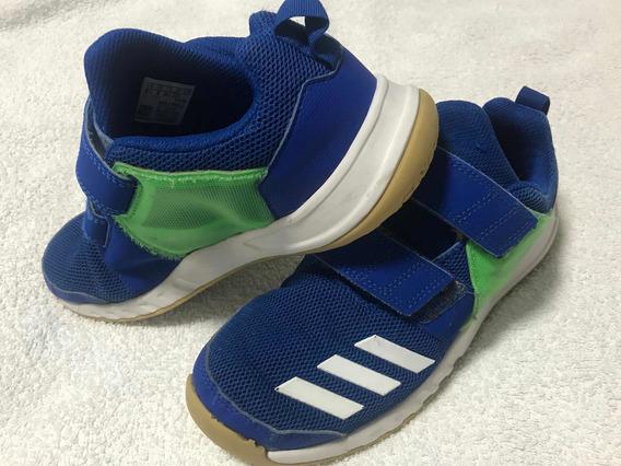 Zapatillas adidas Modelo Fortagym Azul Niño
