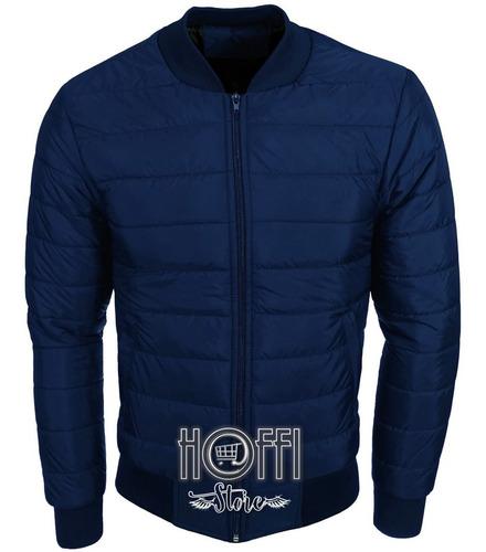 Chaqueta Hombre Azul Oscuro Bomber Jacket