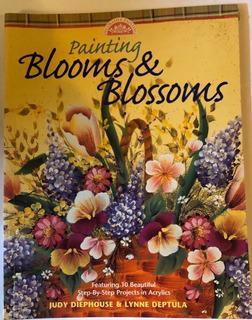 Libro Para Pintar Flores En Porcelana, Loza, Cerámica.