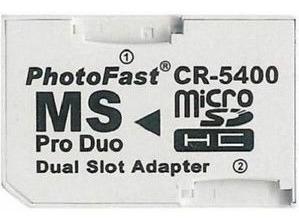 Memory Stick Adaptador Doble Microsd Sdhc Tf Ms Pro Duo Psp