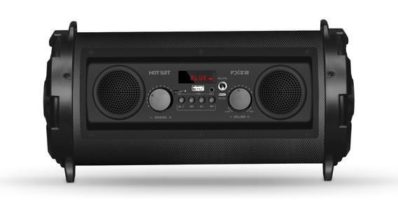 Caixa De Som Bluetooth Hot Sat Fx-s2 V1 Portátil Usb 120w