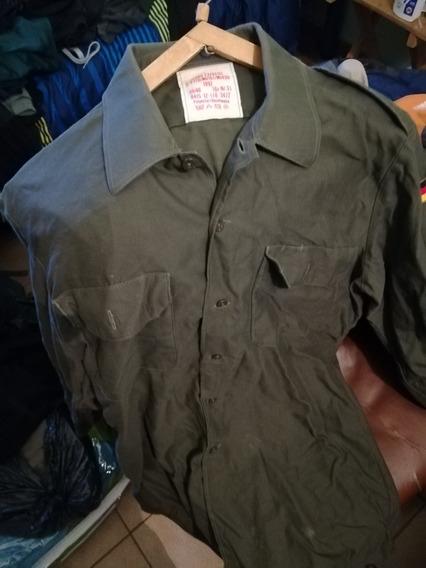 Camisa Del Ejercito Aleman 1992 Sin Ningún Detalle.