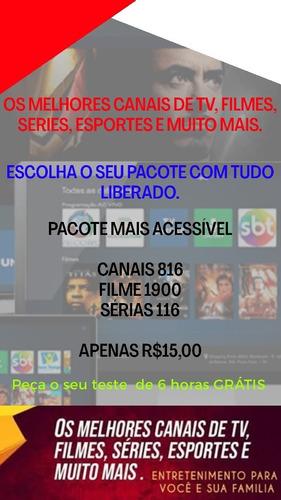 Pacote Com 816 Canais De Tv1900 Filme E116 Sérias