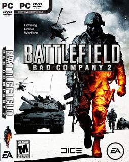 Battlefield Bad Company 2 Juego Pc Disco Fisico