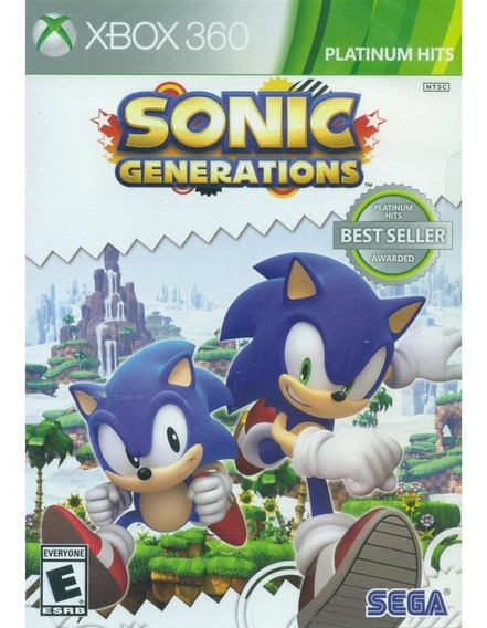 Sonic Generations - Xbox 360 Lacrado