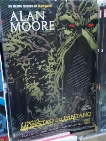 A Saga Do Monstro Do Pantano 05. Lacrado!