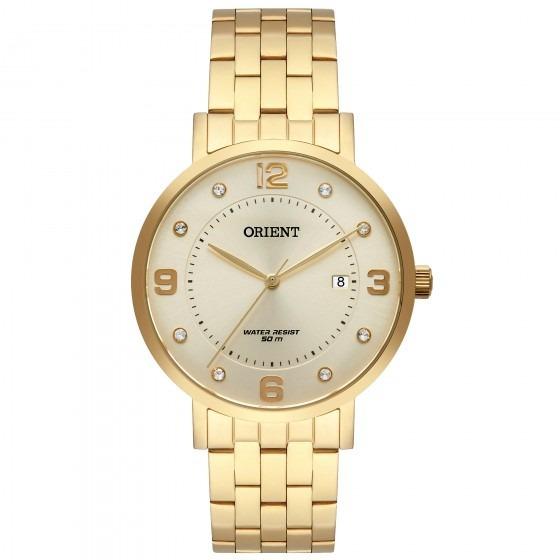 Relógio Orient Fgss1165 C2kx Feminino Dourado - Refinado