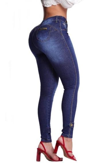 Calça Oxtreet Jeans Feminina Com Bojo Estilo Pit Bull Ref03