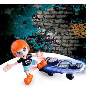 Los Niños De Juguete De Dibujos Animados Eléctrico Stunt S