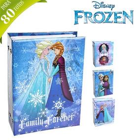 Album De Fotos Infantil Para 80 Fotos 10x15cm Frozen