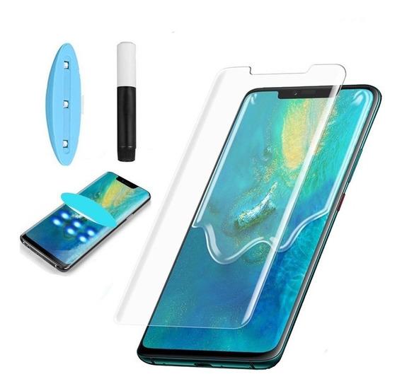Cristal Templado Uv Completo Huawei Mate 20 Pro