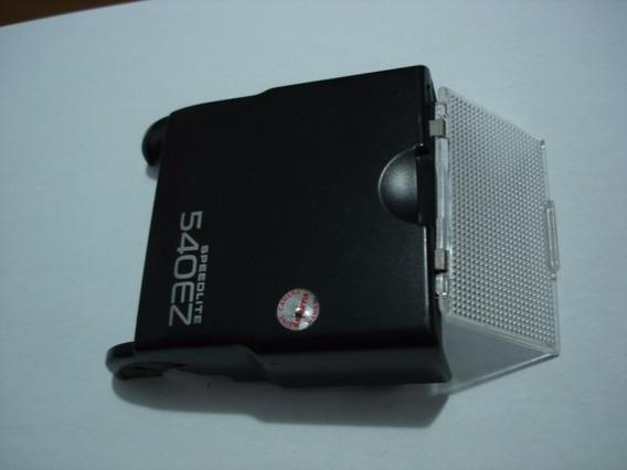 Gabinete Com Difusor Flash Canon 540ez Usado
