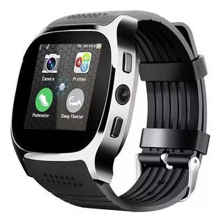 Relógio Smartwatch T8 Com Câmera Integrada/bluetooth
