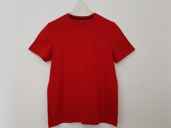 Camiseta Vermelha (tommy Hilfiger)