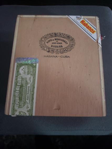 Caixa De Charutos Vazia - Hoyo De Monterrey Série Le Hoyo
