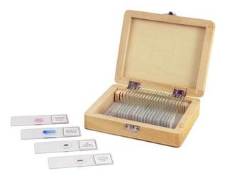 Kit De Preparados Para Microscopios X 25