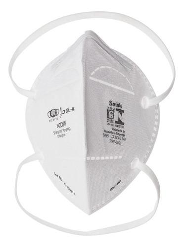 Imagem 1 de 6 de Kit 50 Máscaras N95 Proteção Respiratória Pff2 Anvisa