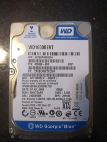 Hd Western Digital 160gb 5400rpm