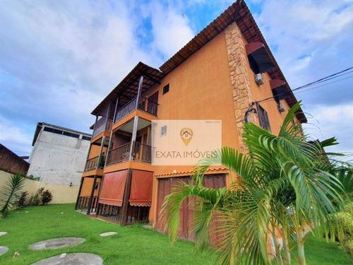 Apartamento Próximo A Praia Da Tartaruga/ Recanto, Rio Das Ostras! - Ap0467