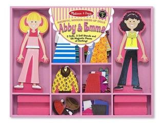 Abby Y Emma Muñecas Para Vestir De Melissa And Doug