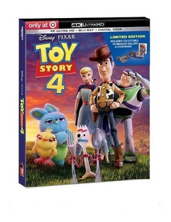 Toy Story 4 4k Uhd Exclusive Edition Limited Nueva Selllada