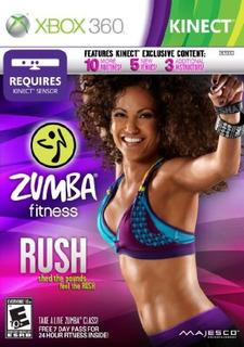 Zumba Fitness Rush - Xbox 360- Envío Gratis