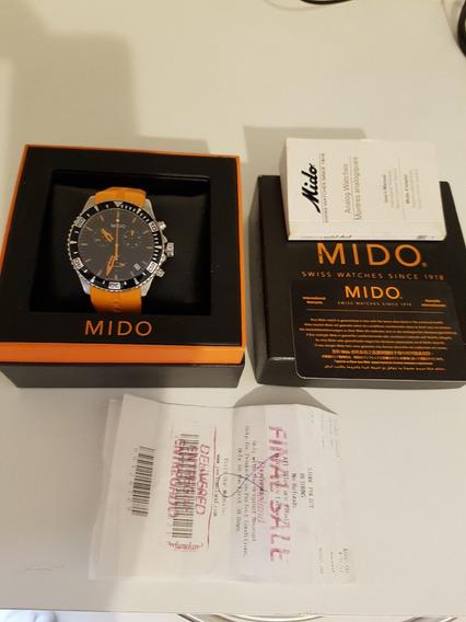 Relógio Mido Ocean Star 200mts Profundidade Com Nf (novo)