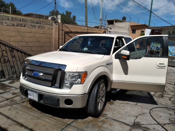 Ford Lobo 2009 5.4 Lariat Cabina Doble 4x4 Mt