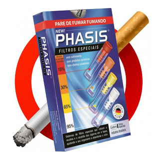 Filtros Para Parar De Fumar Fumando Phasis Kit 4 Piteiras