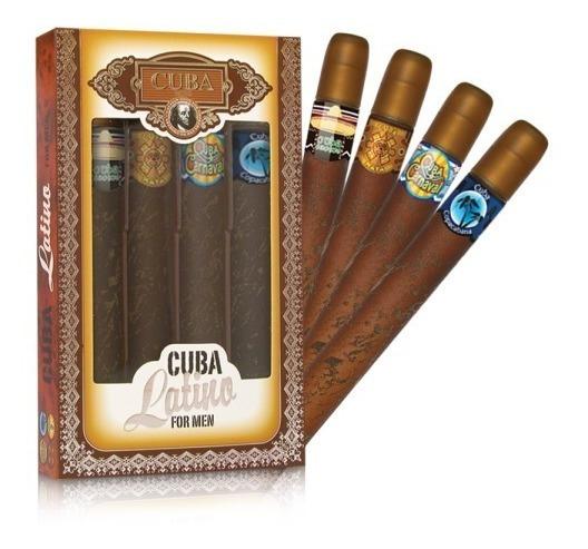 Perfume Cuba Un 35ml Cuba Latino Tipo Charuto