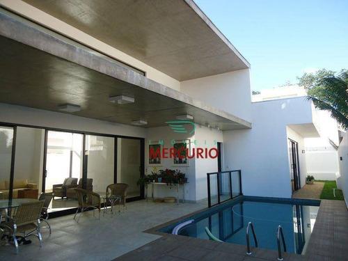 Casa Com 3 Dormitórios À Venda, 406 M² Por R$ 1.350.000,00 - Residencial Odete - Bauru/sp - Ca2726