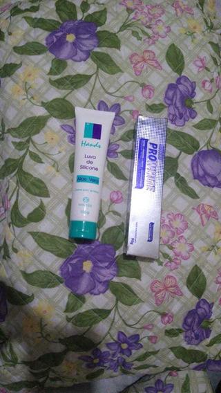 Pro White Gel Dental 90g + Luva De Silicone C/ Aloe Vera