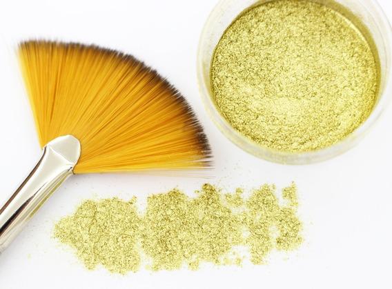 Colorante En Polvo Oro Antique Comestible 10 Gramos